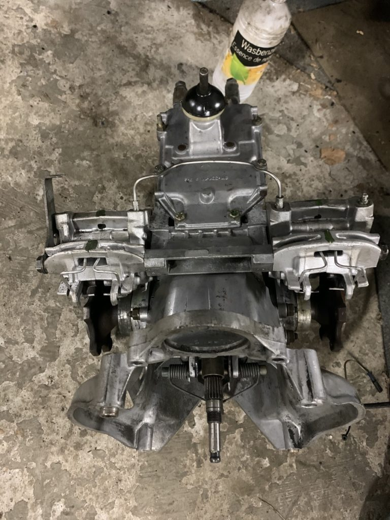 Ami 8 gearbox
