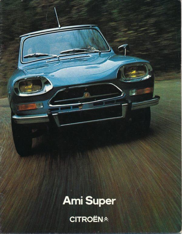 Citroën Ami Super brochure