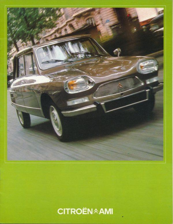 Citroën Ami 8 brochure