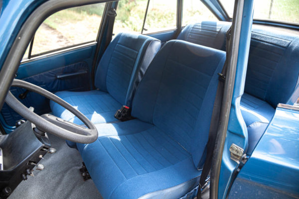 New interior upholstery in the Ami 8